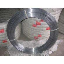 Hot DIP galvanizado de alambre ovalado 43kg o 45kg
