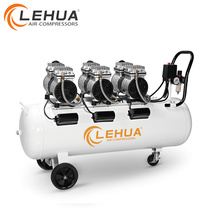 0.55kw*3 100l 6 cylinders dental air compressor