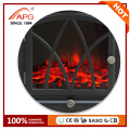 APG Artificial Freestanding Electric Wooden Wood Fireplace