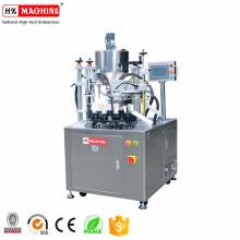 Machine de cachetage remplissante de type rotatoire pour les tubes en plastique, tuyaux