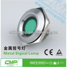 30mm CMP anti-vandal waterproof stainless steel IP67 operated water proof led light(passed SGS,CE,TUV,RoHS)