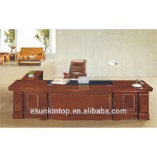 AH-06 table de bureau moderne en bois de placage bureau bureau bureau de bureau