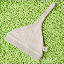 Lindo chapéu de bebê de algodão orgânico