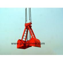 Prendedor de fio de corda para montar e desmontar carga em massa