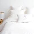 2017 Nouveau conçu satinée hôtel vivant 5 étoiles luxe maison literie / longue discontinues en coton ensemble de literie