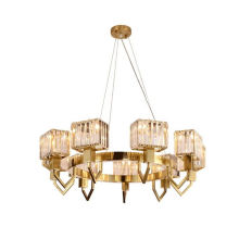 Empire Style Lighting Modern Engineering Affordable Long Size Crystal Chandelier