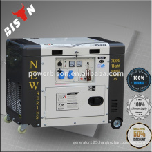 BISON(CHINA) 5kw Noiseless Diesel Generator