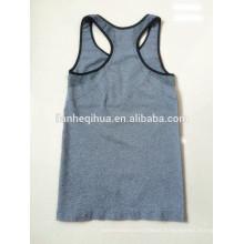 Seamless woman sports vest/bra