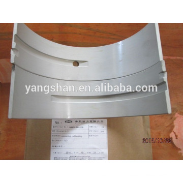 MAN B&W marine spare parts L23/30H connecting rod bearing shell with competitive price