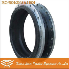 Large diameter flanged DN3800 rubber expansion joint