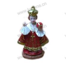 Personalizar Escultura decorativa religiosa del EL Nino del resplandor del diseño lujoso