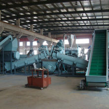Postcustomer PP, PE Film Dirty PP PE Film Washing Line Recycling Machine Plastic Machinery
