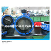 Worm Gear 904L Stainless Steel Disc Casting Body Butterfly Valves