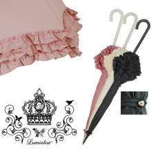 Frilly Ladies Straight Umbrella (BD-49)