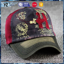 Latest arrival different types 6 panel breathable baseball cap for wholesale