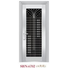 Porta de aço inoxidável para a luz do sol exterior (SBN-6702)