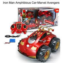 Marvel Avengers Electric RC carro anfíbio para menina Kids Brinquedos