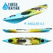 4.3m de longitud Pesca Kayak Remolque