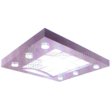 Elevator Cabin Ceiling with Circle Carve Transparent Light (HDHM-456)