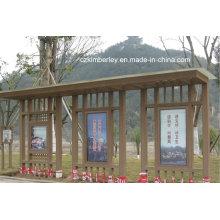 Различные виды павильона WPC из Китая