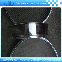 Rostfreier Stahl-Grill-Maschendraht benutzt im Restaurant