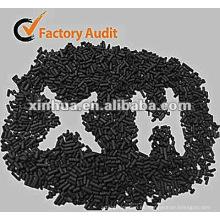 carbón activado a base de carbón de 3mm de carbón activado