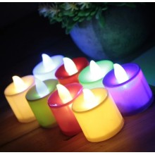 Flameless Mini Led Lilin Teh Cahaya Tealight Lilin