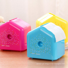 Caixa colorida de tecido colorido de design (ZJH020)