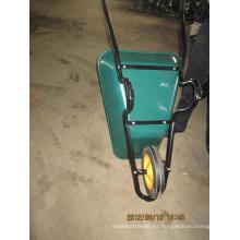 Carretilla de rueda de acero de alta calidad para el mercado Wb3800 de Suráfrica