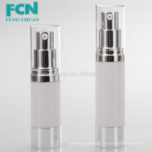 50ml transparent luxury cosmetic packaging airless plastic pump bottle PETG