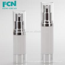 50ml embalagem de cosméticos de luxo transparente garrafa de bomba de plástico sem ar PETG