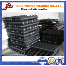 CE& ISO9001 PVC Coated Black Square Wire Mesh