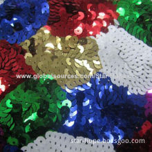 New Fashion Colorful Sequence Lace