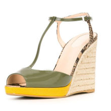 ladies beautiful wedge shoes/2016 wedge sandals/wedge sandals