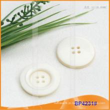 Botão de poliéster / botão de plástico / botão de camisa de resina para Brasão BP4231