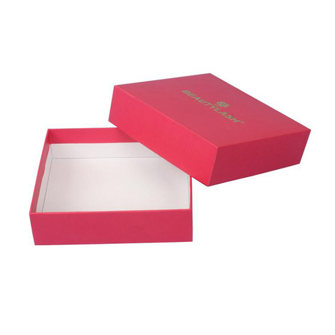 Red Paper Rigid Gift Box