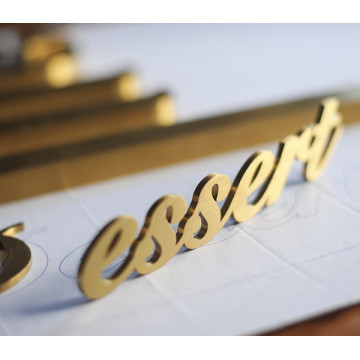 Custom Metal Cutout Signs Letter Signs