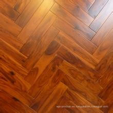 Sólido Real Herrybone Acacia Wood Flooring Hotel & Home Flooring