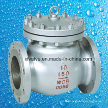 150lb Cast Carbon Steel Wcb Flange End Swing Check Valve
