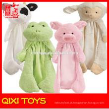 cobertores de bebê cabeças de animais bebê cobertor animal padrão