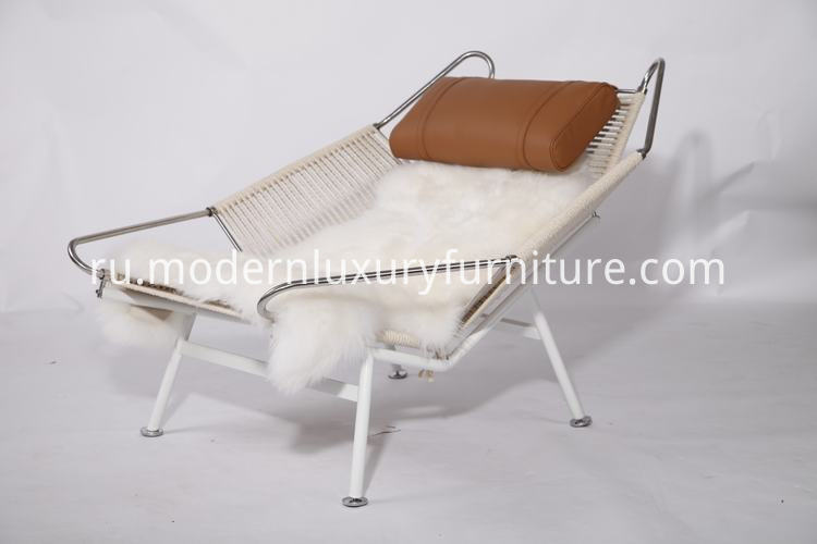 flag halyard lounge chair replica