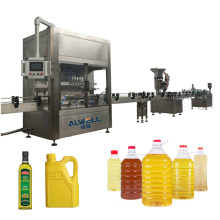 Automatic round bottle 12 head drinks filling machine for cooking oil,beverage