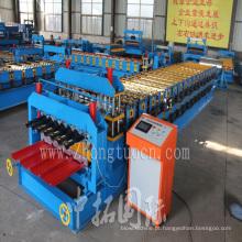 Máquina de dupla camada para perfil de aço cor