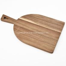 Placa de corte de madeira de acessórios de cozinha