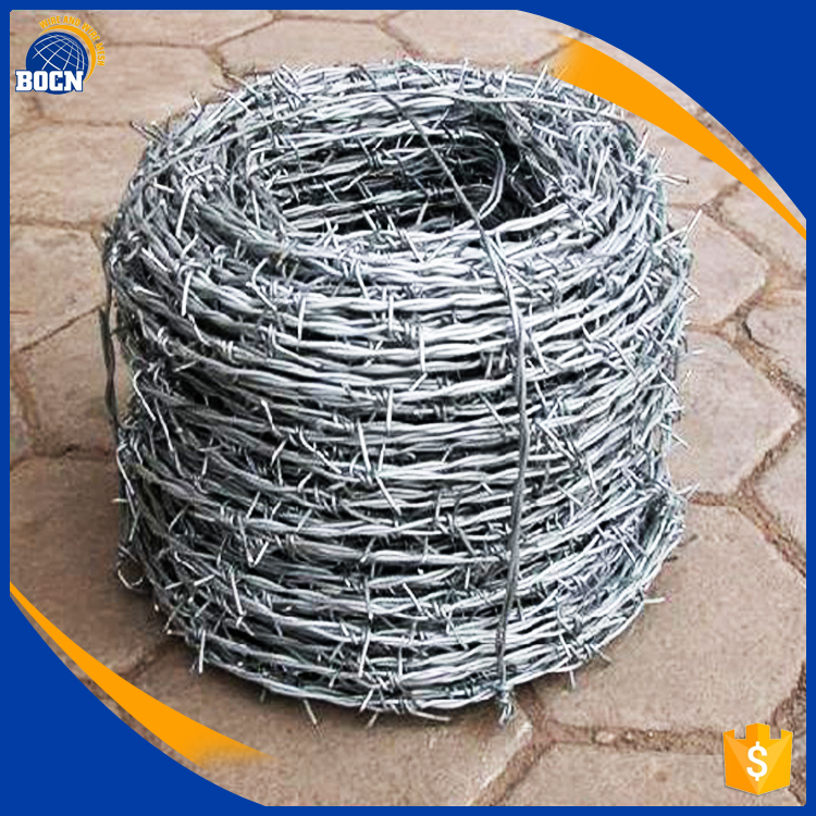 hot dip galvanized barbed wire
