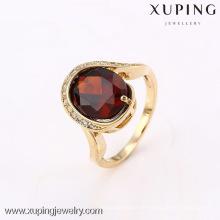 12640 Xuping neues Produkt großer Stein 18k plattierter Ring