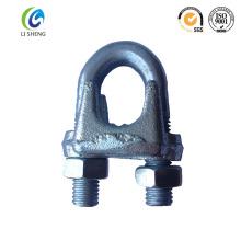 China proveedor fabricante US tipo gota forjado cable de sujeción de la abrazadera