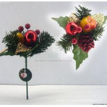 Пластиковые декоративные Рождественские украшения ручной работы берет
