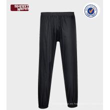 Modifique el impermeable impermeable de la PU para requisitos particulares con el impermeable práctico de los pantalones para el adulto