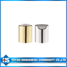 Aluminium Shampoo Push Pull Disc Cap for Bottle